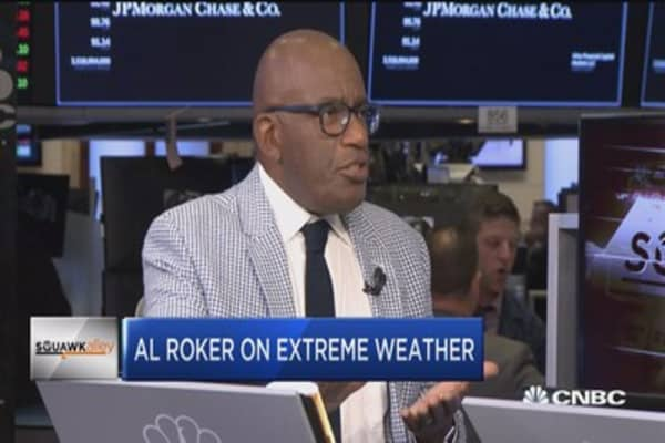 Al Roker: Climate change increases the potential for more extreme weather