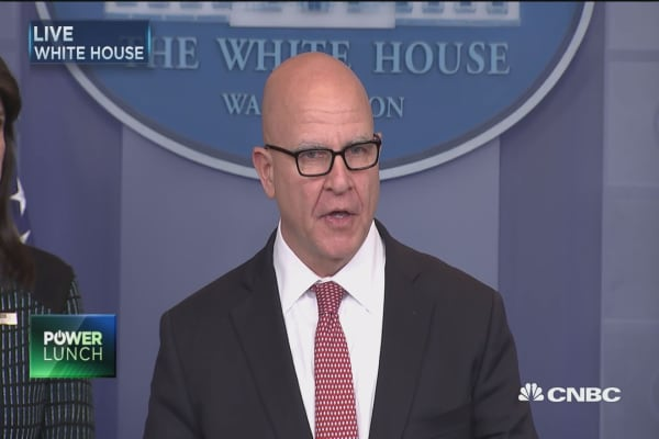McMaster: United States remains committed to defeating terrorist organizations