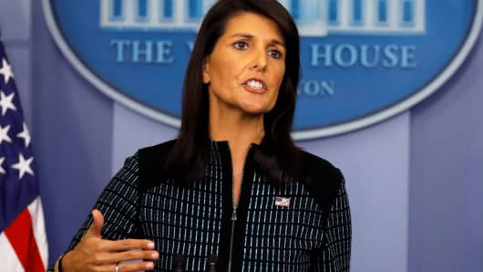 Haley: Trump move on Iran sends 'perfect message' to North Korea