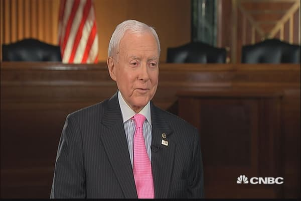 Sen. Orrin Hatch: I'm tempted to write a song on tax reform
