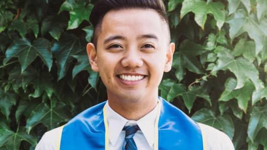 Raphael Natividad, a UC Irvine graduate.