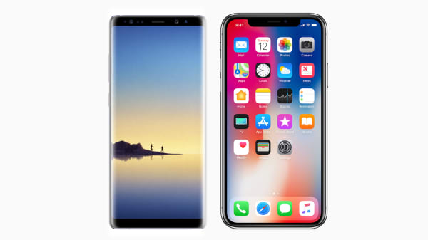 Iphone x vs galaxy note 8 comparing features heres how the iphone x compares to the galaxy note 8 ccuart