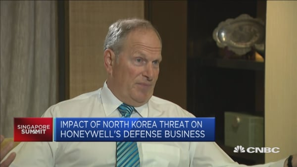 How North Korea is affecting business at Honeywell