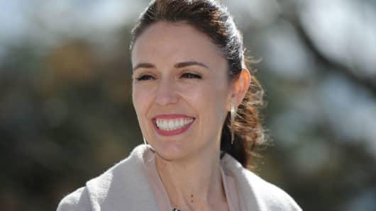 New Zealand prime minister-elect Jacinda Ardern