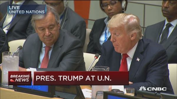 Trump: US supports the reform vision for the UN