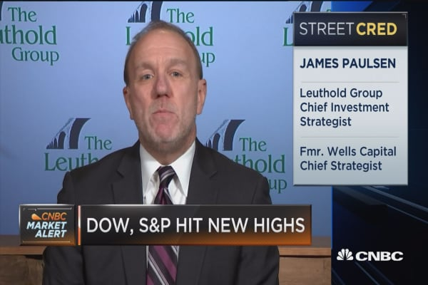 Jim Paulsen: Market will continue going higher if we don't get inflation, interest rate pressures