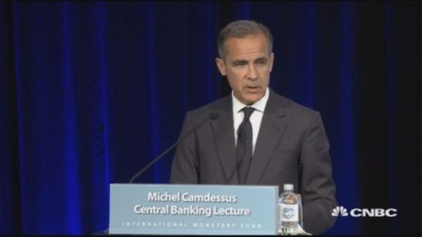 Migration not associated with lower inflation, BOE Governor Carney says