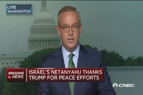 Israel's PM Netanyahu holds interest in revisiting Iran nuclear deal
