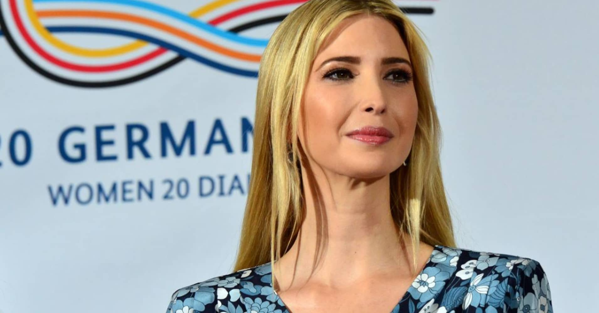 Ivanka Trump, daughter and adviser of U.S. President Donald Trump talks during a panel at the W20 Summit in Berlin on April 25, 2017. The conference aims at building support for investment in women's economic empowerment programs