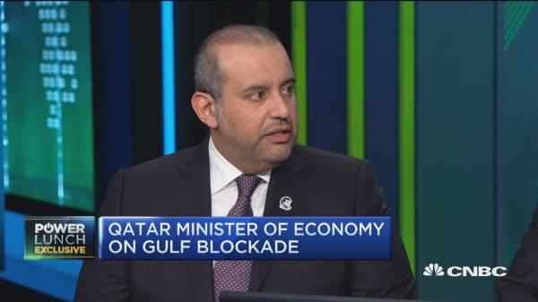 Qatar economic minister: We are sharing biggest gas field with Iran