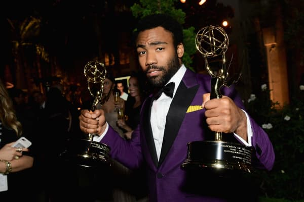 "Donald Glover wins two Emmy Awards for FX Network show ""Atlanta"" at the 69th Primetime Emmy Awards."
