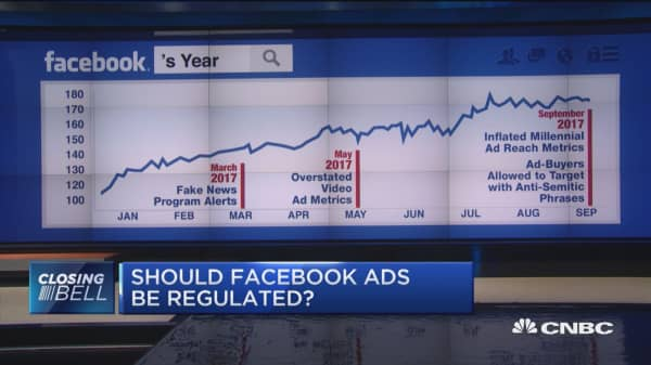 Should Facebook ads be regulated?