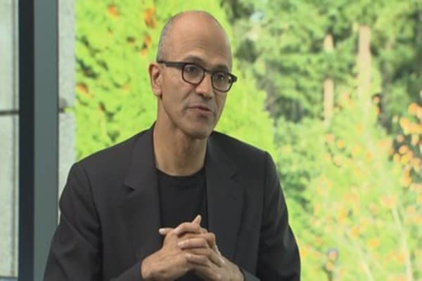 Microsoft CEO Satya Nadella could have worked at Amazon