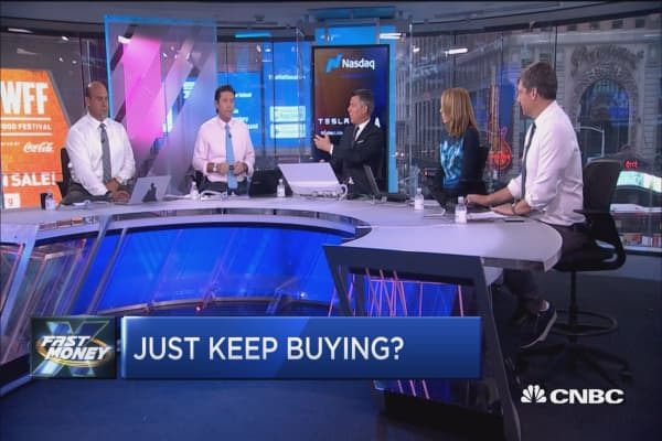 With stocks at record highs, is the best strategy just keep buying?