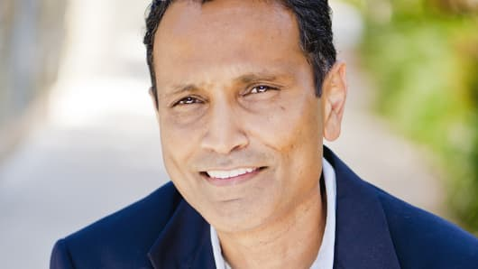 Vineet Jain, CEO of cloud-computing startup Egnyte.