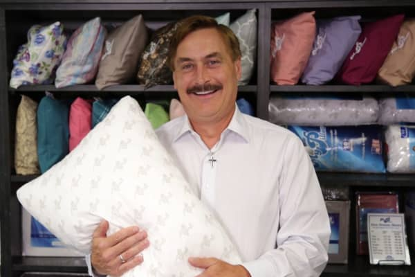 MyPillow Founder and CEO Mike Lindell