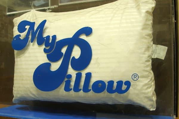 MyPillow has sold 30 million pillows
