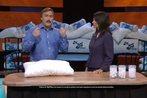 MyPillow founder Mike Lindell said he has spent $100 million on infomercials