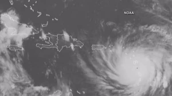 Hurricane Maria batters Caribbean