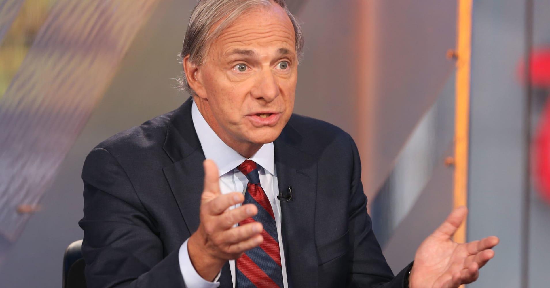 Ray Dalio: 'Risks of a recession' are rising