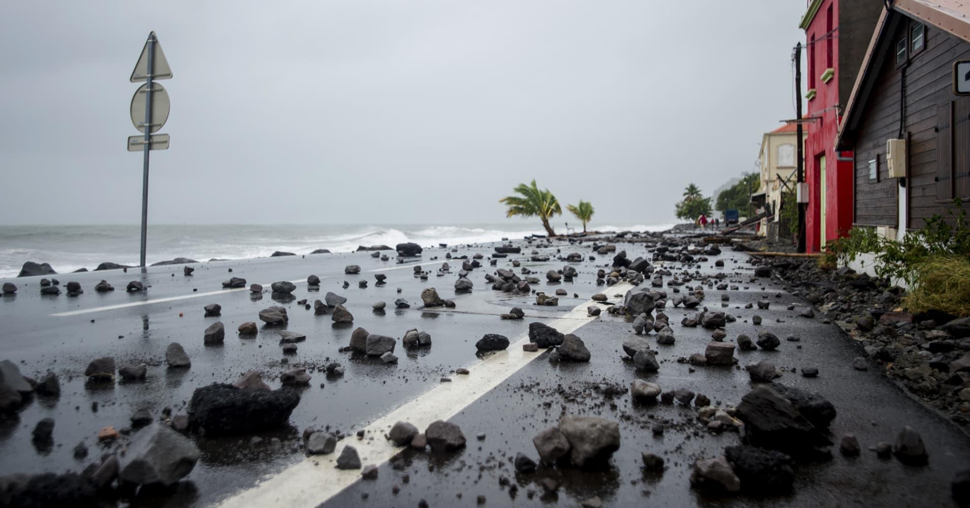 Category 5 Maria pummels Dominica, barrels toward US Virgin Islands, Puerto Rico