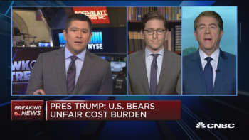 Rest of the world heard Trump talk about US attempting to go it alone: Michael Fuchs