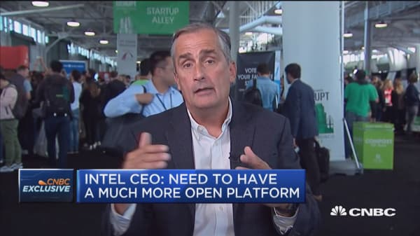 Intel CEO: Need to have a much more open platform
