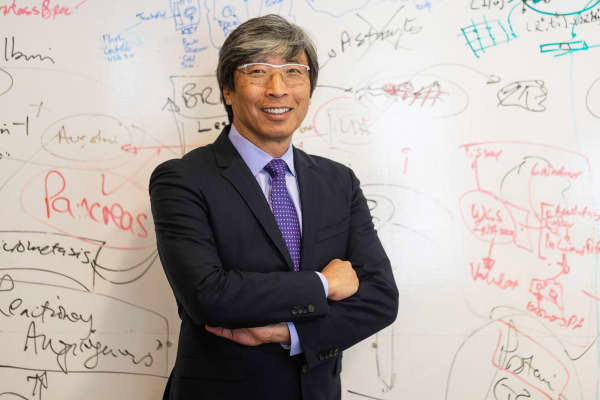 A champion for LA's entrepreneurs: Patrick Soon-Shiong, billionaire surgeon and founder of NantHealth Foundation