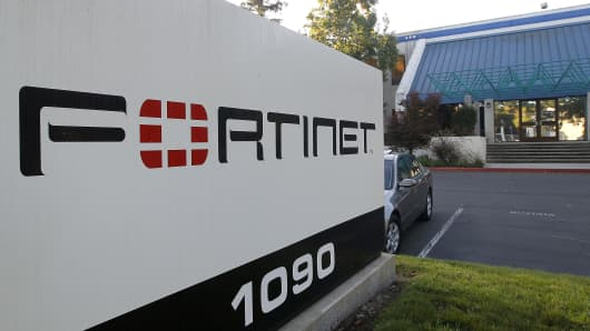 Fortinet Inc. headquarters in Sunnyvale, California.