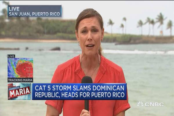 Puerto Rico braces for Hurricane Maria