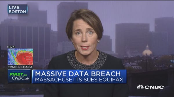 Mass. AG Maura Healey: Equifax needs to pay for their mistakes