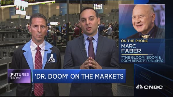 'Something will happen,' and stocks will plummet, argues Marc 'Dr. Doom' Faber