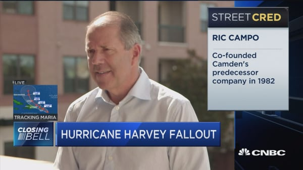 Camden CEO talks about the rental market post-Harvey