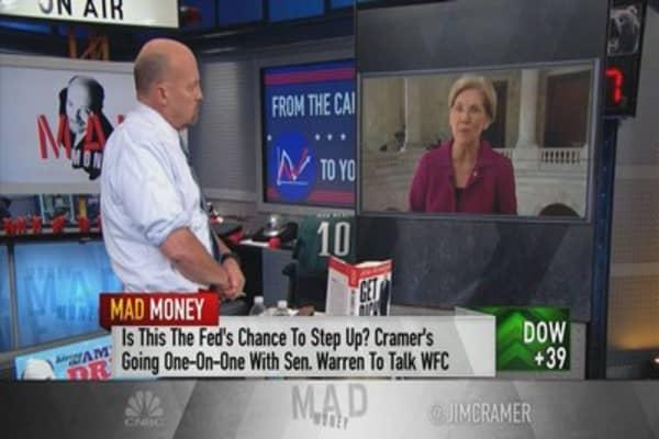 Sen. Elizabeth Warren says Wells Fargo misdeeds were all about juicing reported profits