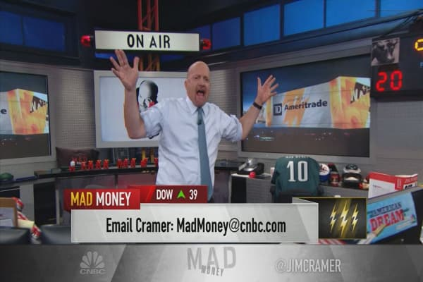 Cramer's lightning round: CyberArk's in purgatory — here's how long you should wait to buy