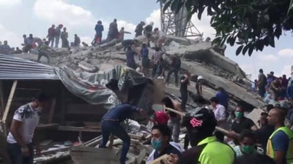 7.1 magnitude Earthquake hits Mexico, killing more than 225