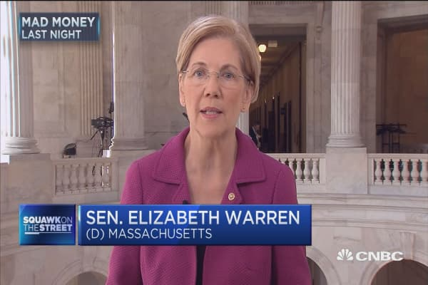 Sen. Warren: We must hold executives accountable. Period!
