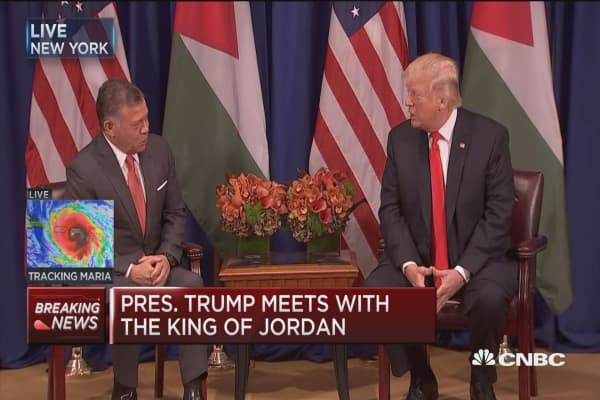 Trump: Our relationship with Jordan has never been better