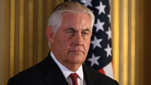 Secretary of State Rex Tillerson.