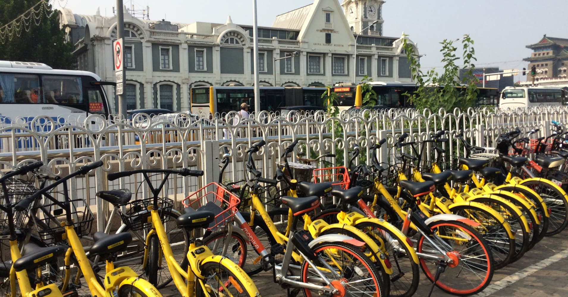 Silicon Valley's LimeBike faces off against China's bike-sharing power players