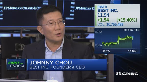 Best CEO Johnny Chou: Great opportunity as China's consumption is going up