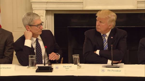 Apple CEO Tim Cook: 'I am personally shocked that there is even a discussion of this'