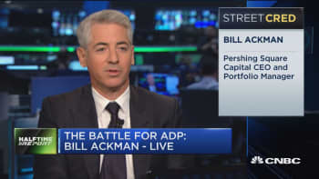 Bill Ackman: ADP has started to see real competition