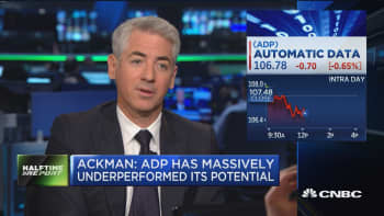 Bill Ackman: I can work effectively with ADP CEO Carlos Rodriguez