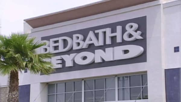 Bed Bath & Beyond shares crater 15%