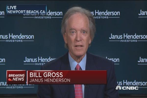 Bill Gross: Recession could happen if Fed follows dot plot