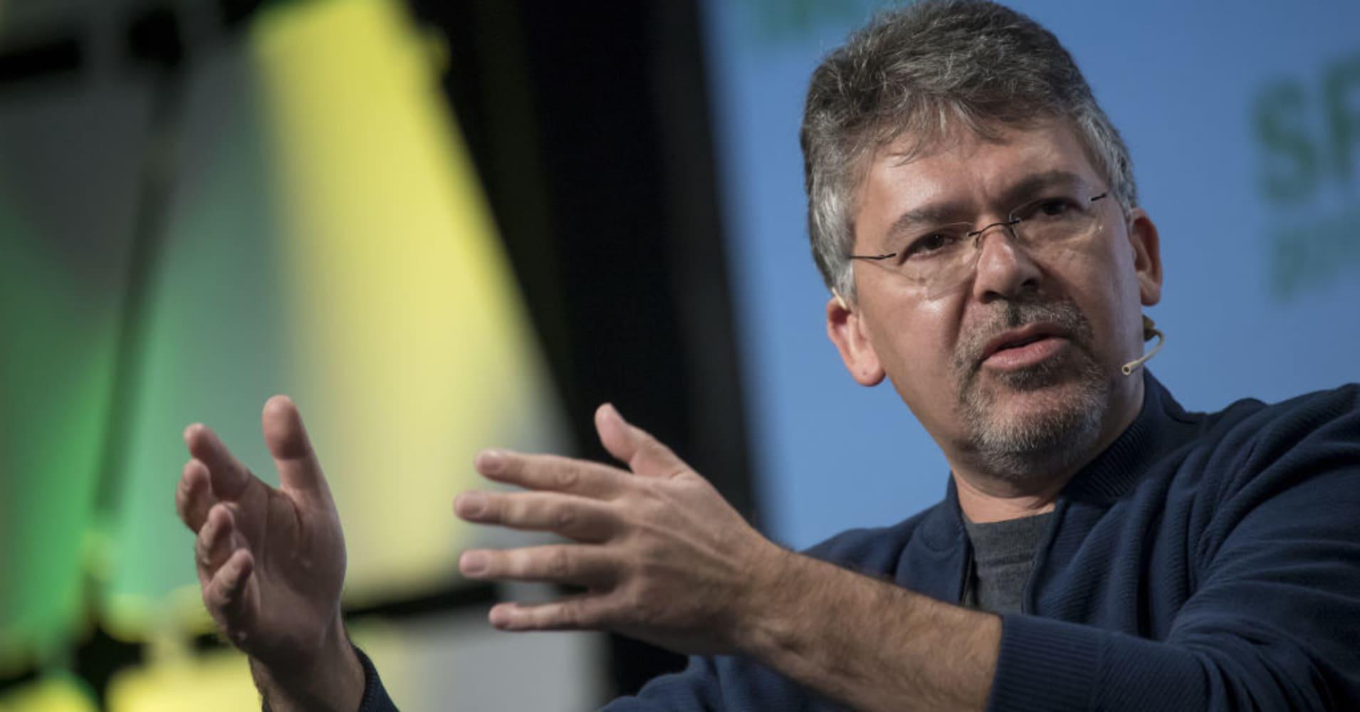 John Giannandrea, senior vice president of engineering at Google