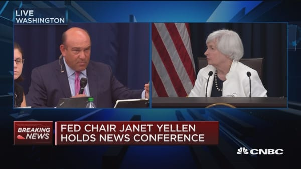 Yellen: Fed funds rate is our active policy tool