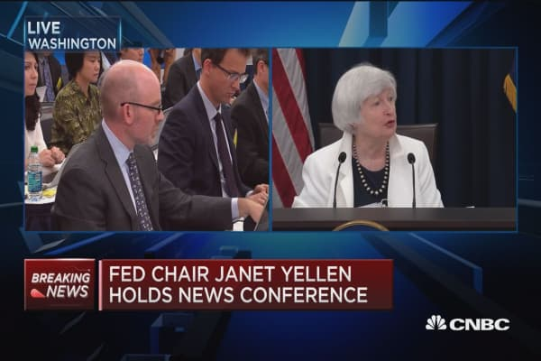 Yellen: We are not locked in to policy plans