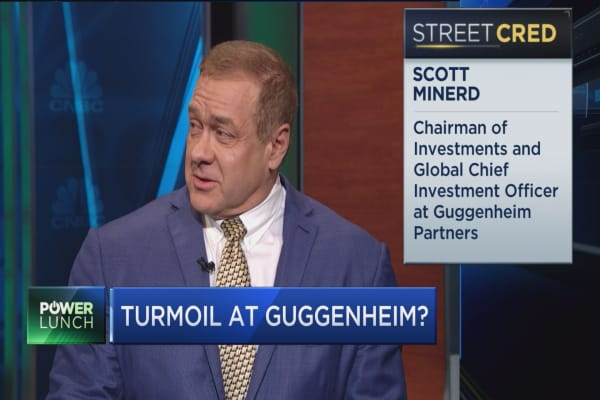 Guggenheim CIO downplays reports of turmoil at investment firm